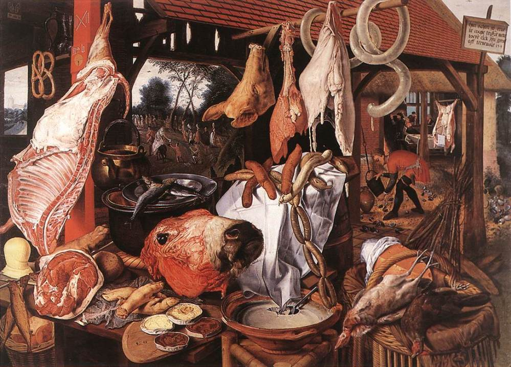 butchers-stall
