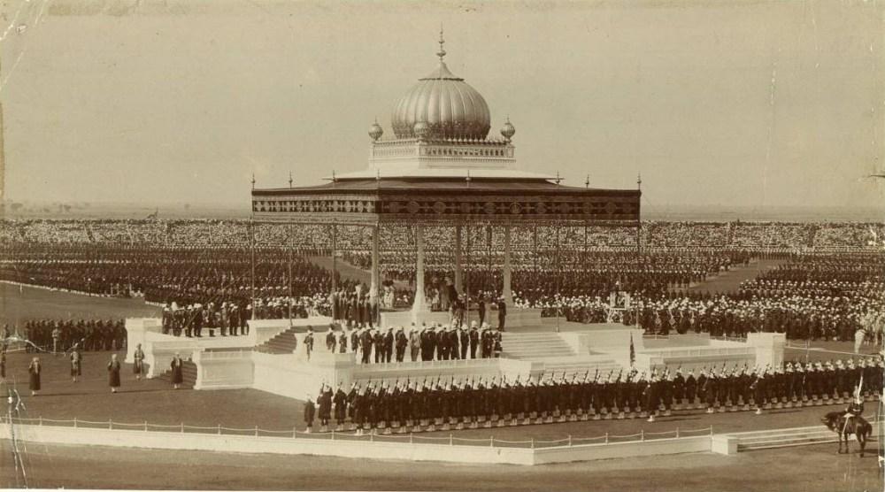 दिल्लीचा एक जुना फोटो - स्त्रोत विकीपीडिया