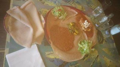 इथियोपियन जेवण