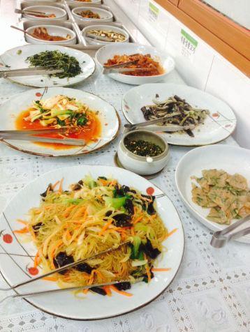 कोरियन बुफे