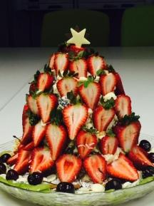 ख्रिसमस मॉर्निंग टी केक