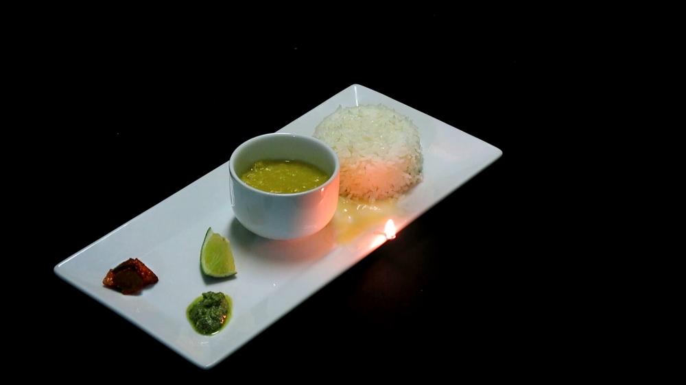वरण-भात-तूप-लिंबू